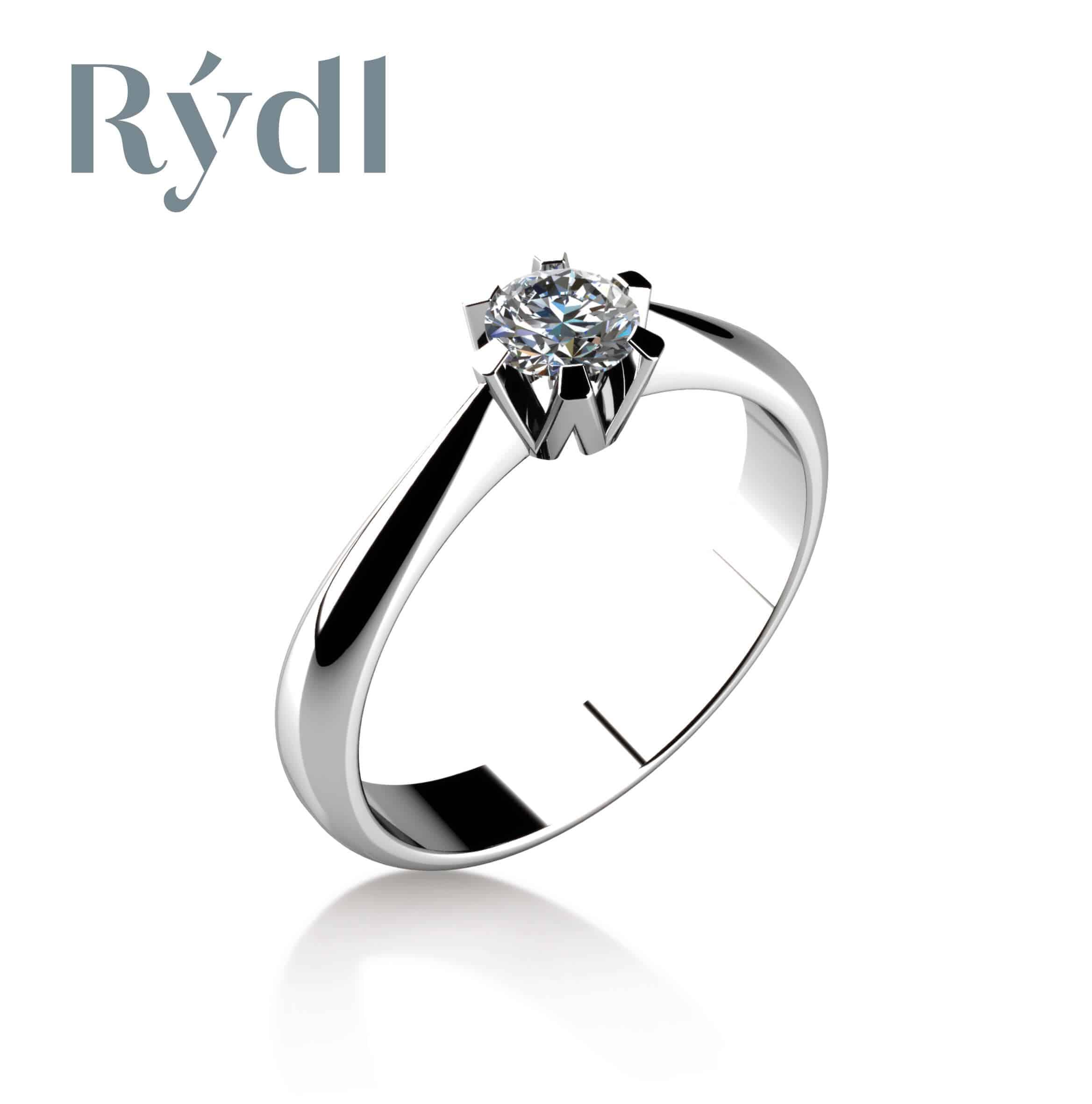 Zásnubní prsten Rýdl 048