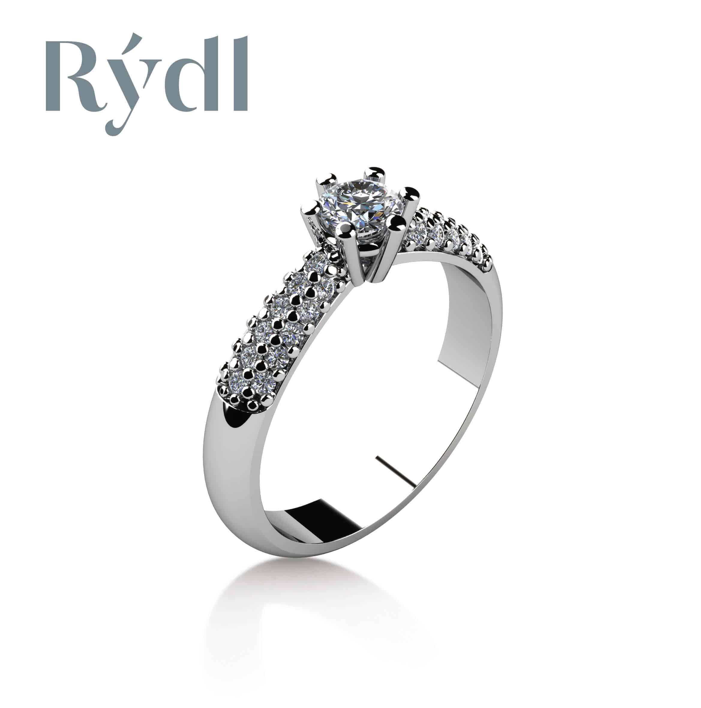 Zásnubní prsten Rýdl 055