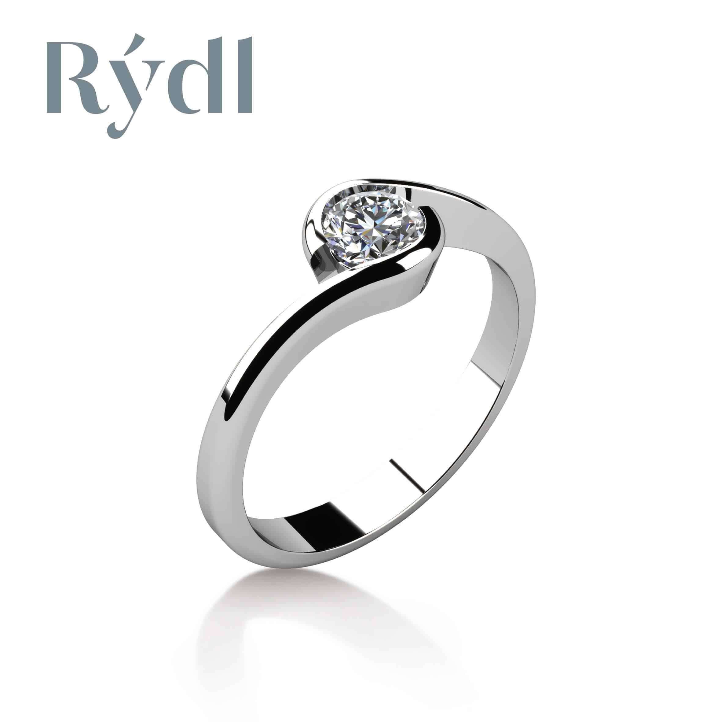 Zásnubní prsten Rýdl 056
