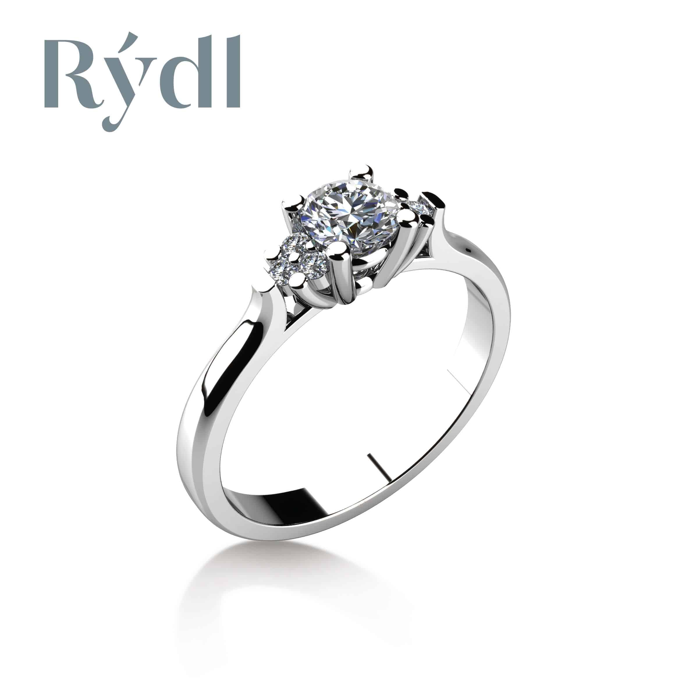 Zásnubní prsten Rýdl 058