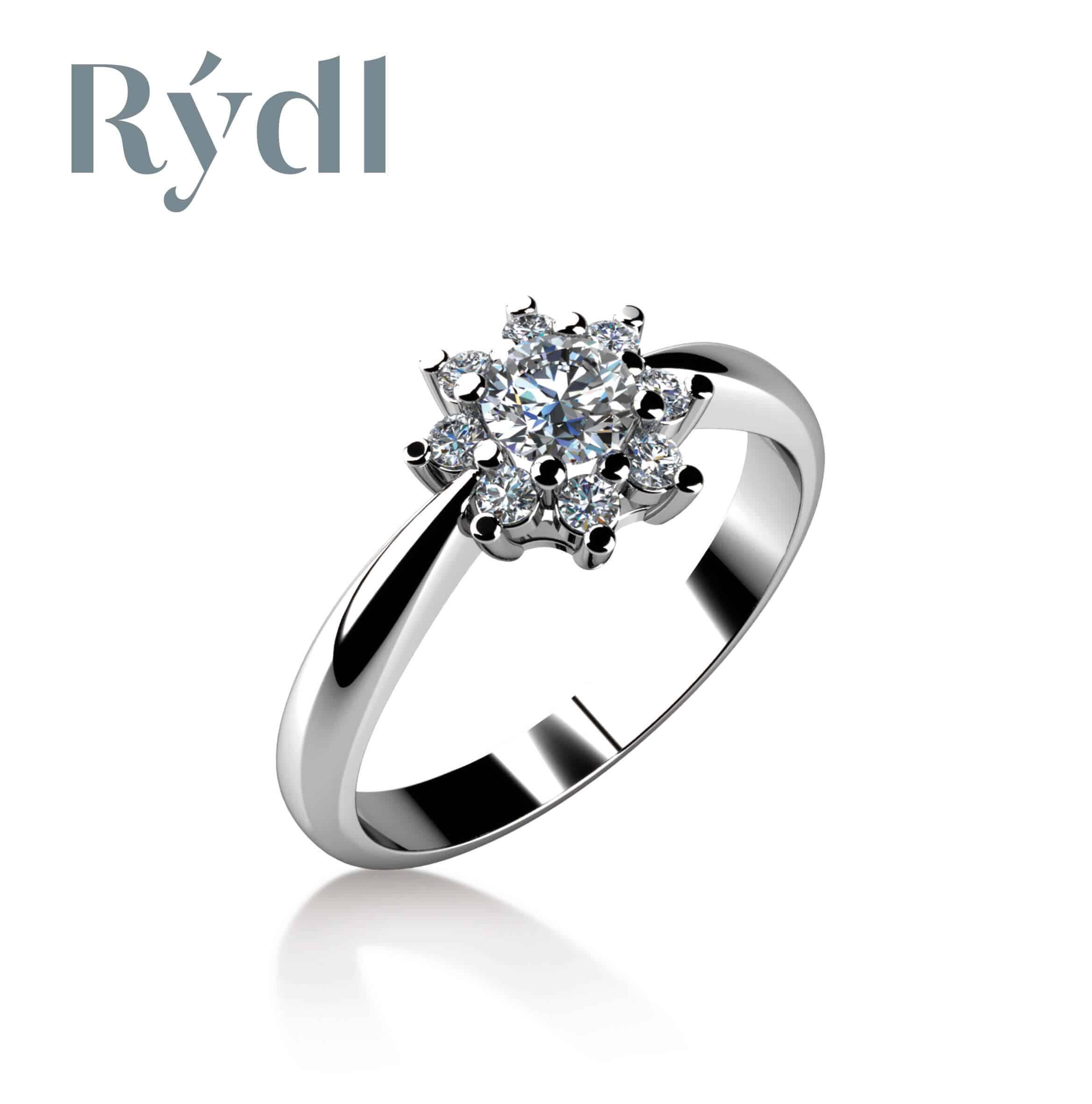 Zásnubní prsten Rýdl 060
