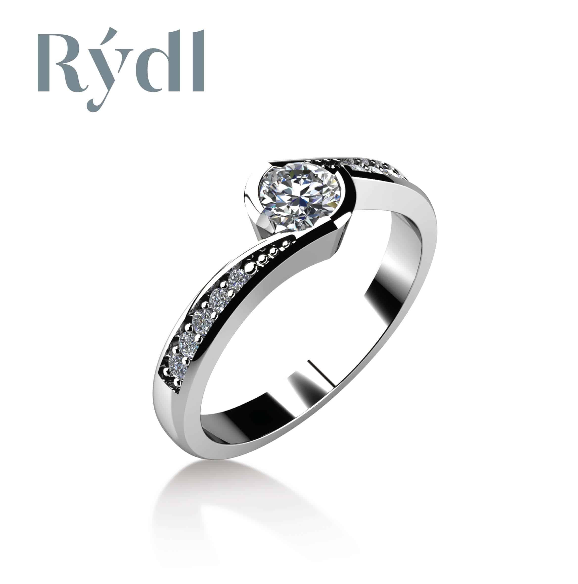 Zásnubní prsten Rýdl 061