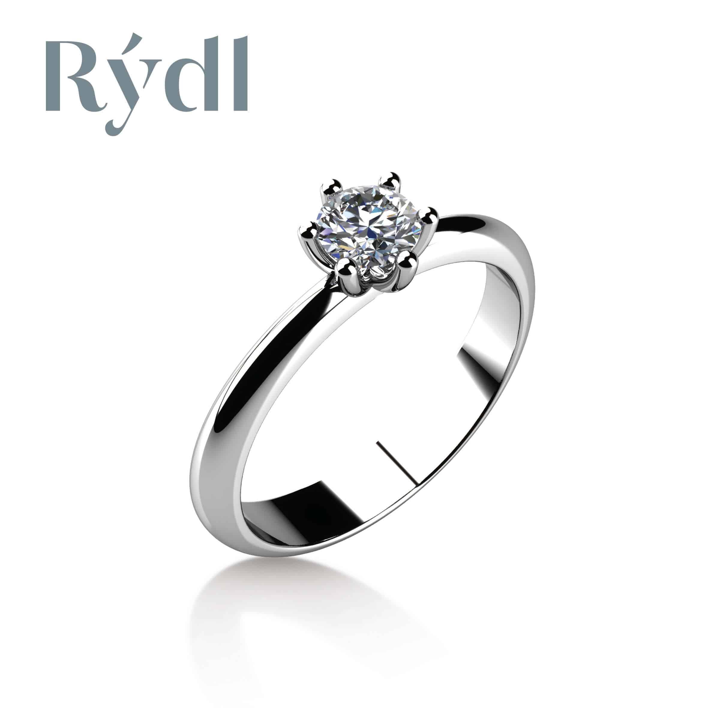 Zásnubní prsten Rýdl 063