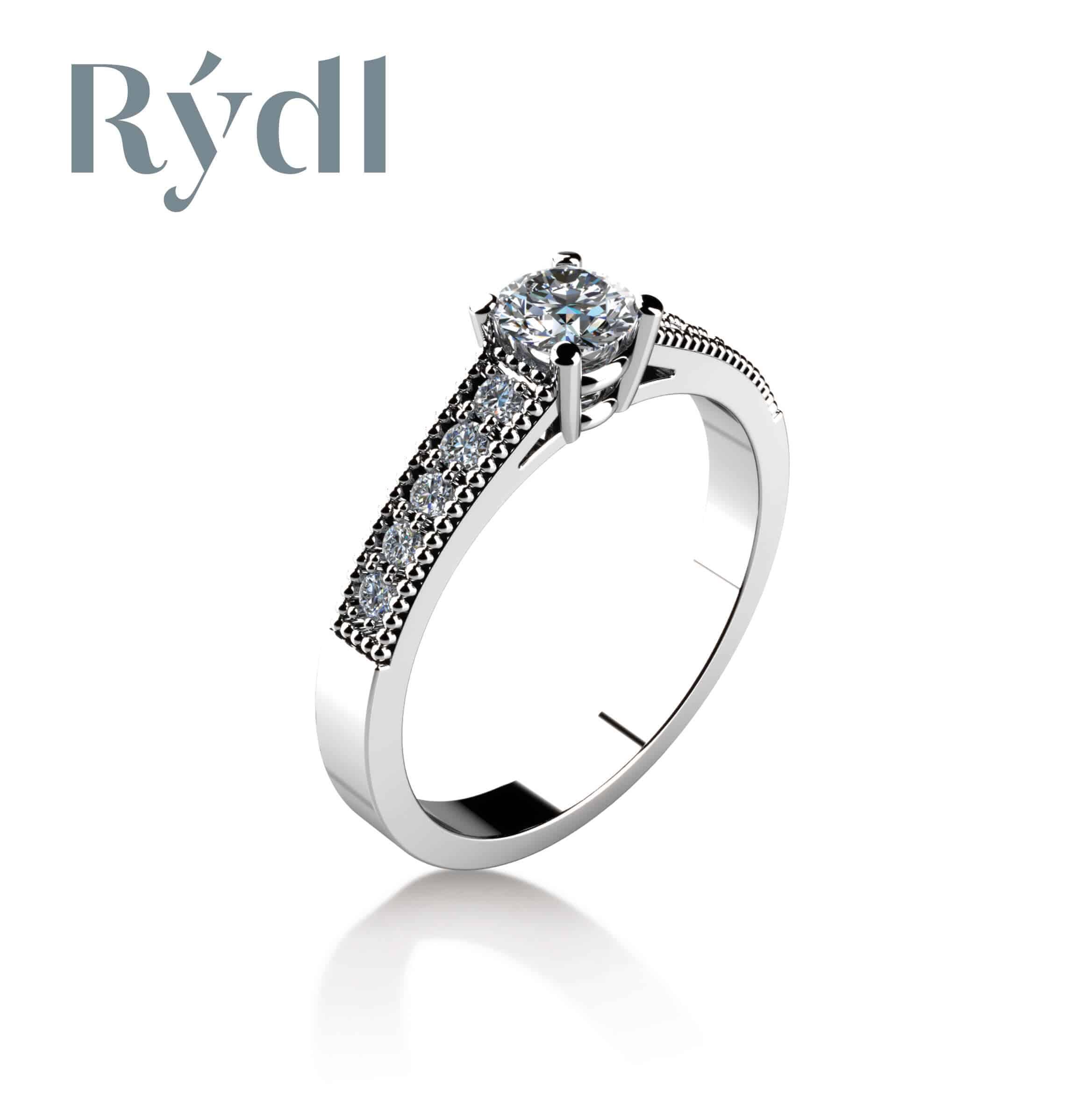 Zásnubní prsten Rýdl 064