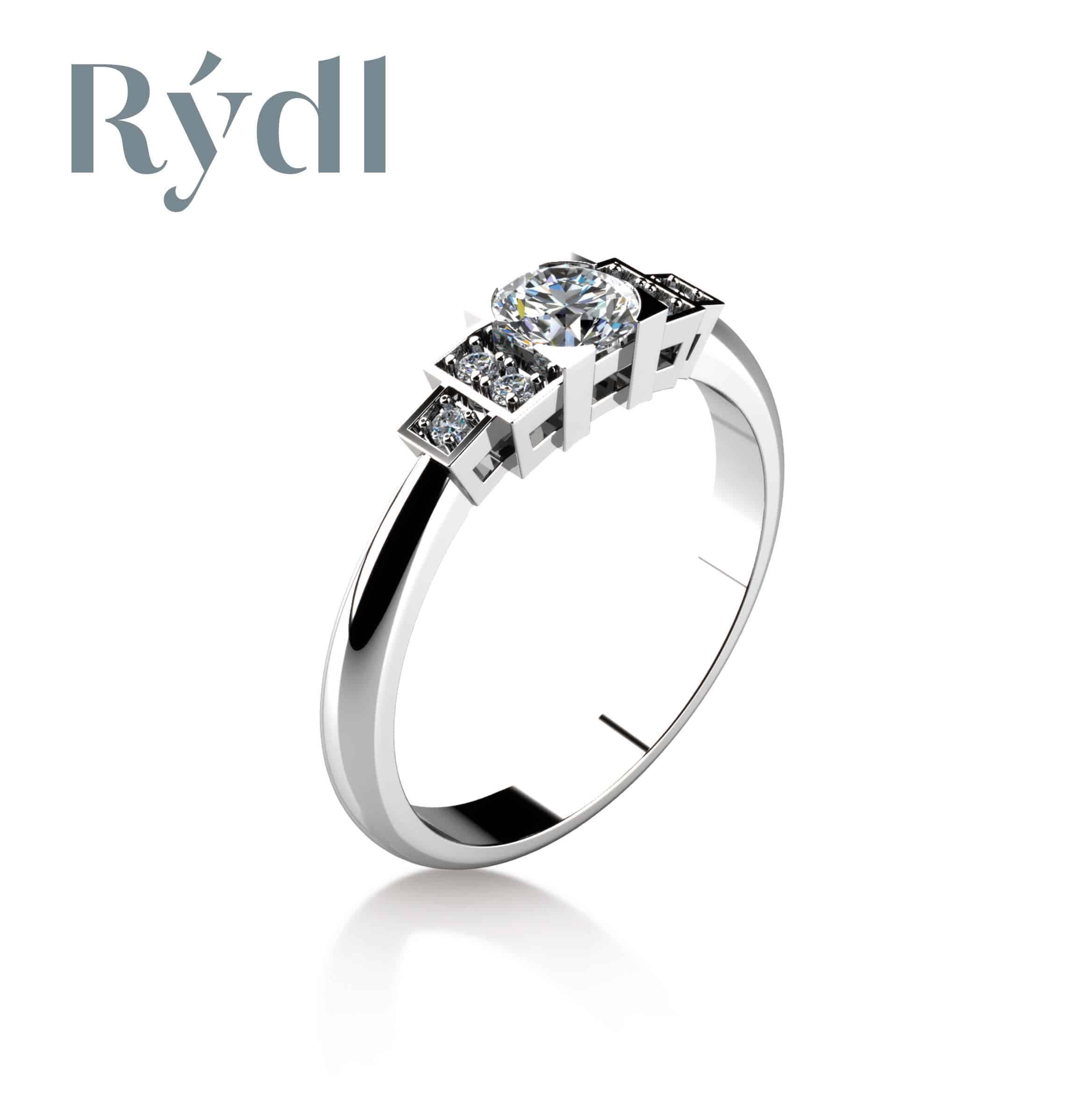Zásnubní prsten Rýdl 065