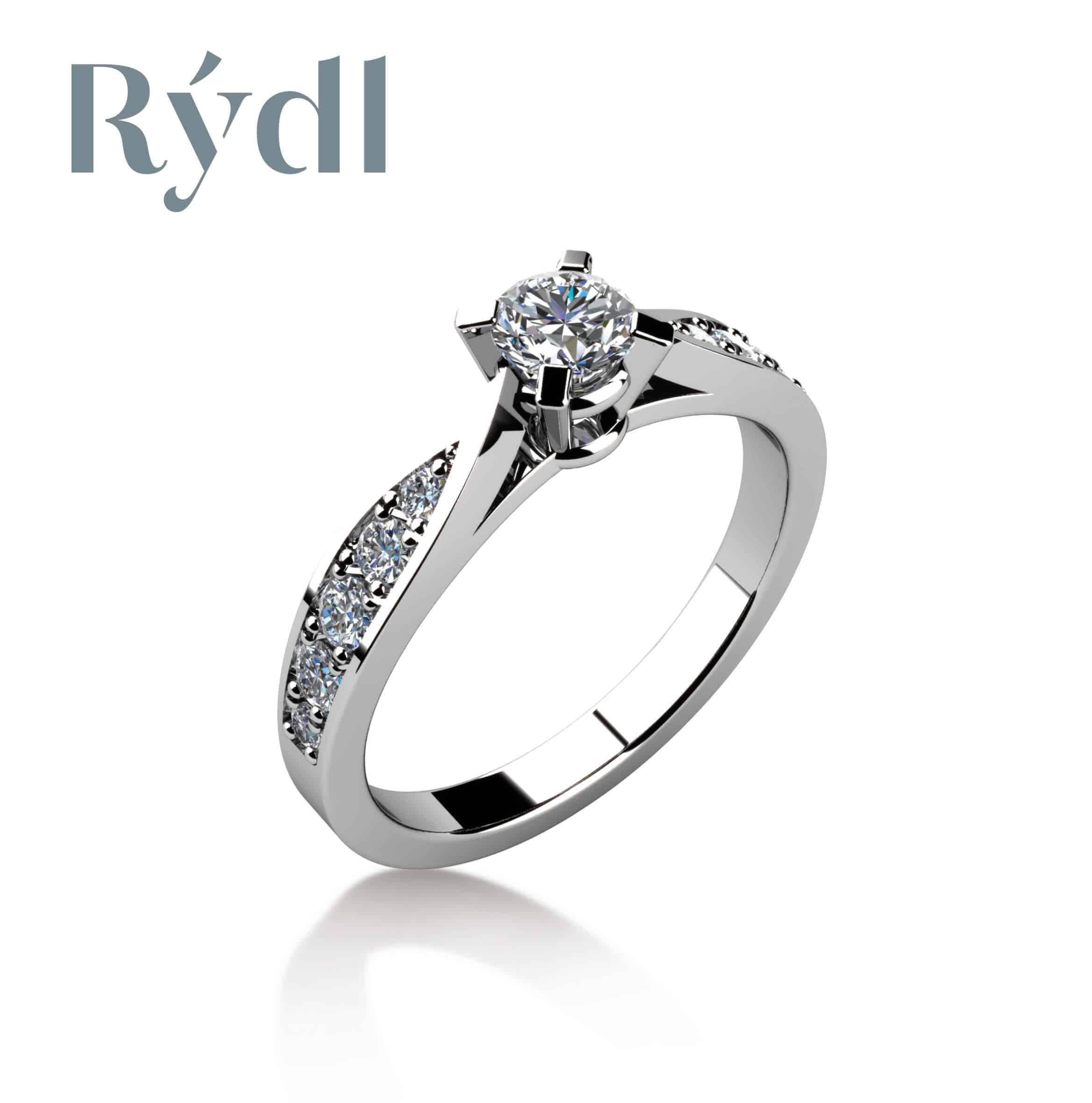 Zásnubní prsten Rýdl 069