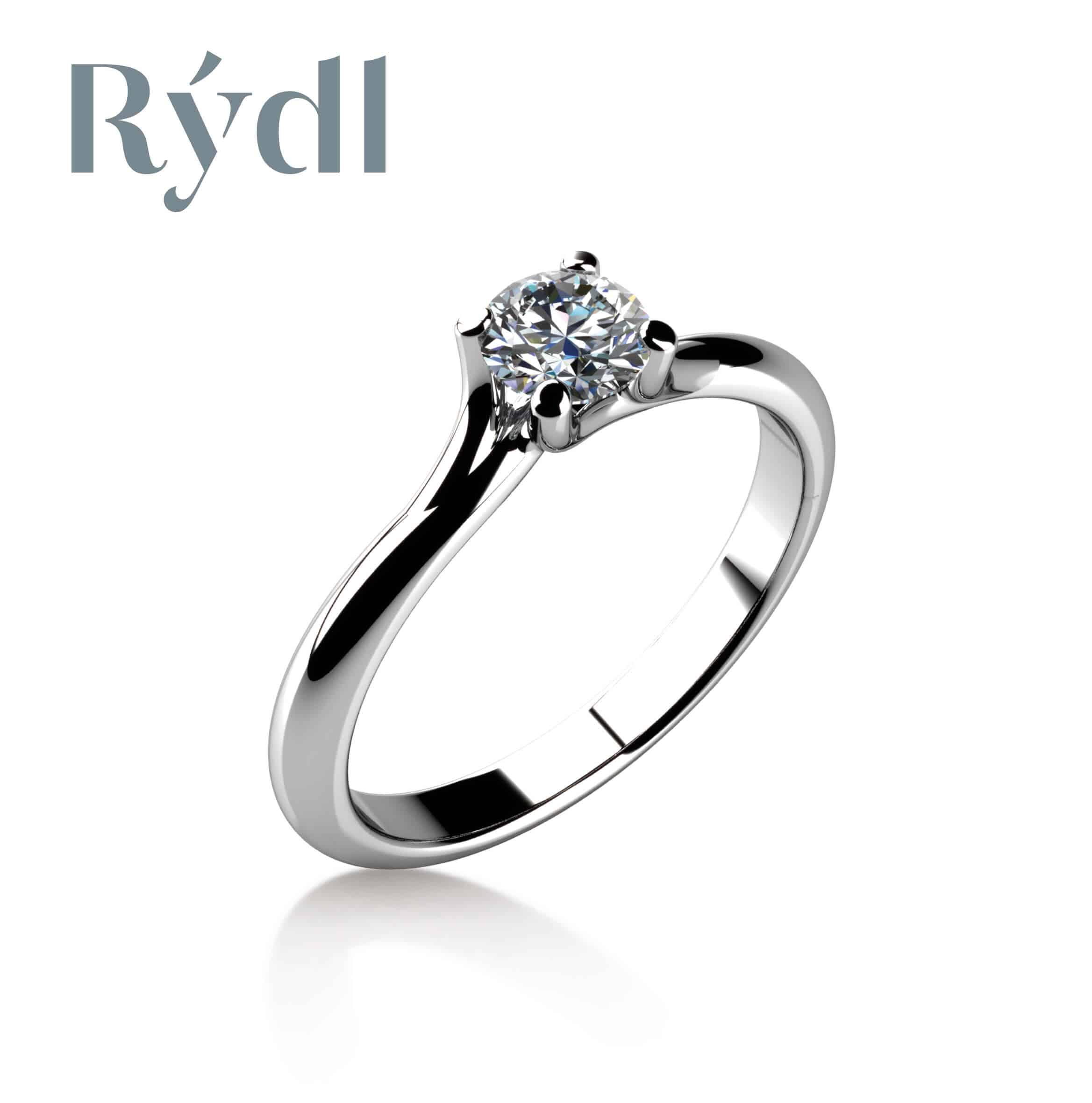 Zásnubní prsten Rýdl 076