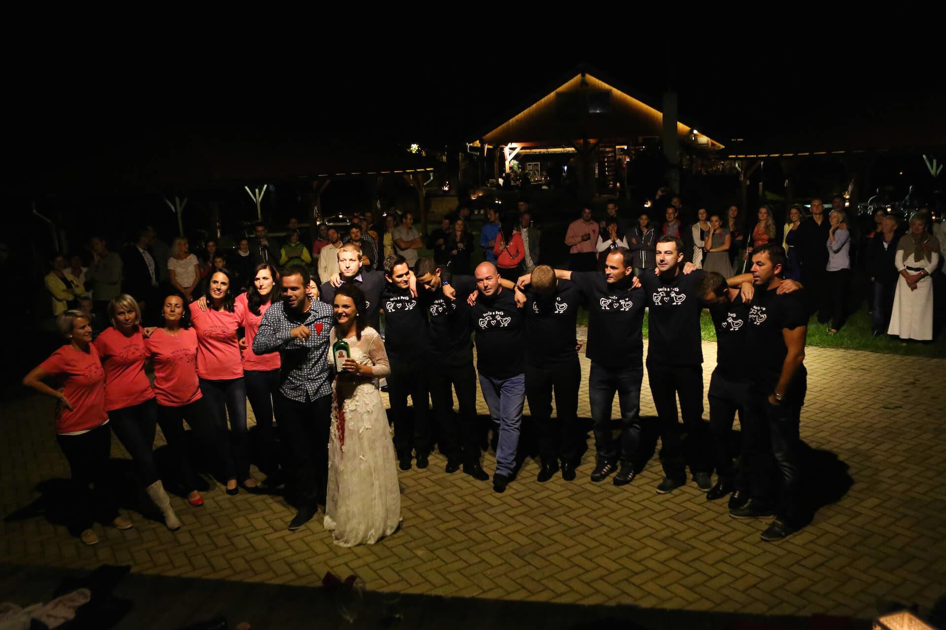 Penzion Kamínek svatební zábava