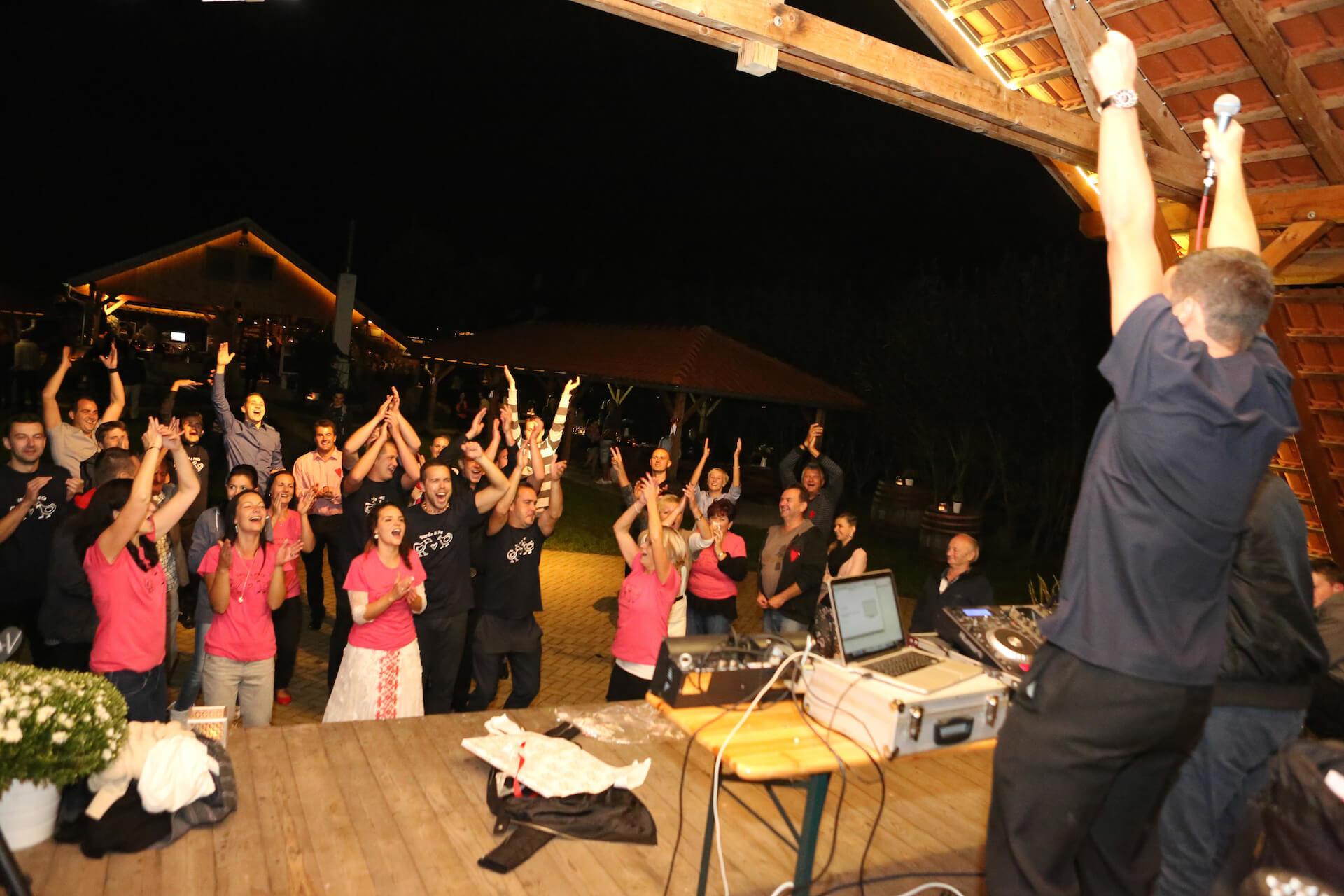Penzion Kamínek večerní diskotéka