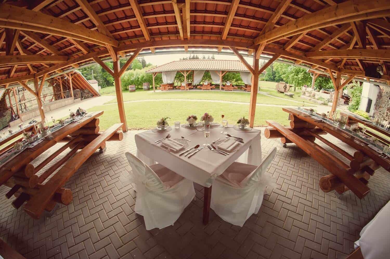 Penzion Kamínek svatební tabule