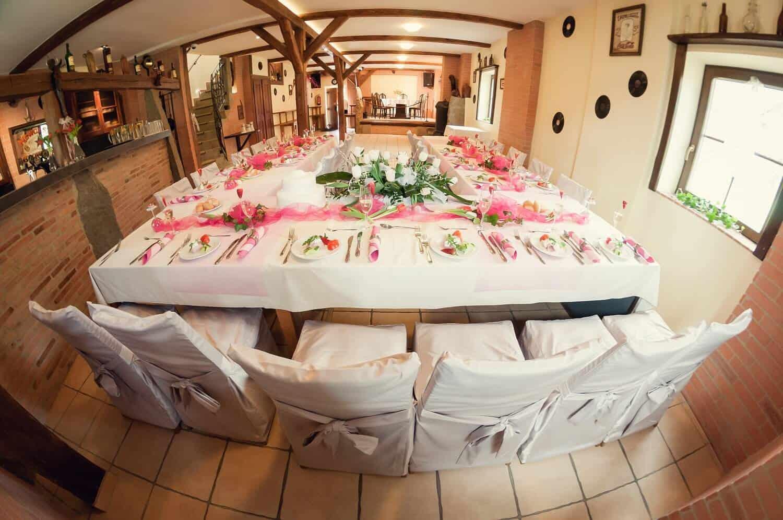 Penzion Kamínek svatební tabule 1
