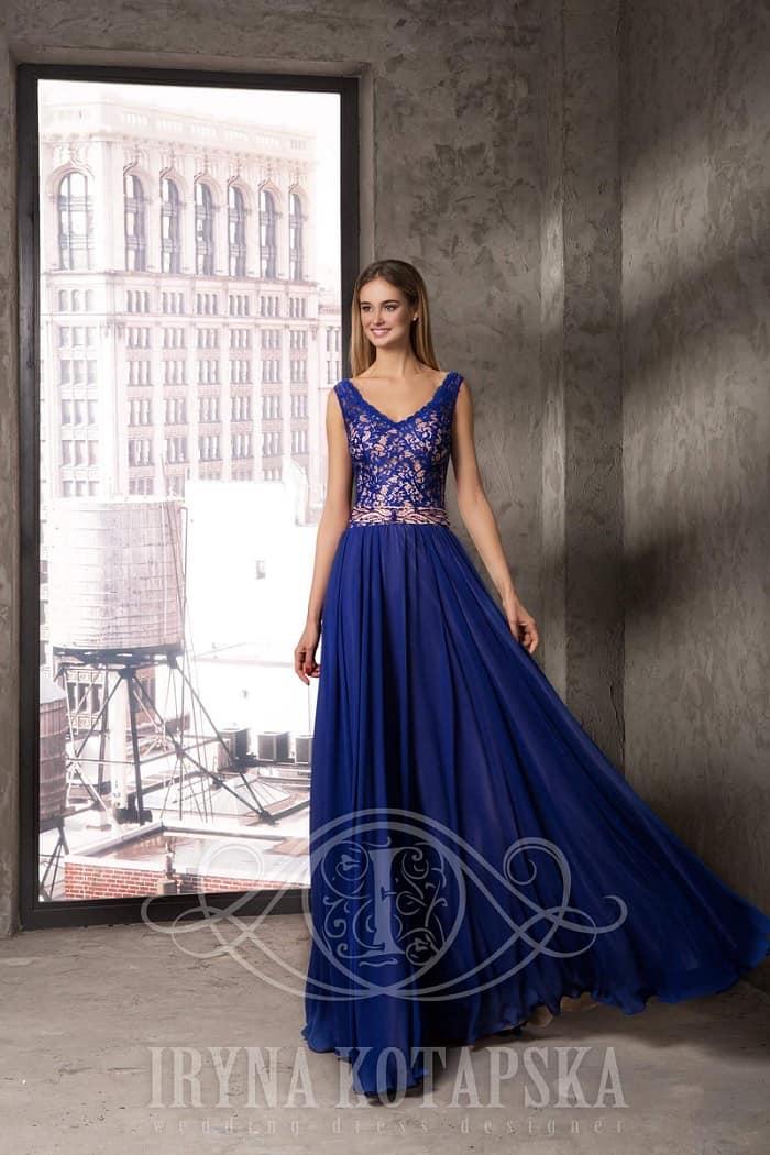 Svatební salon Madona modré šaty