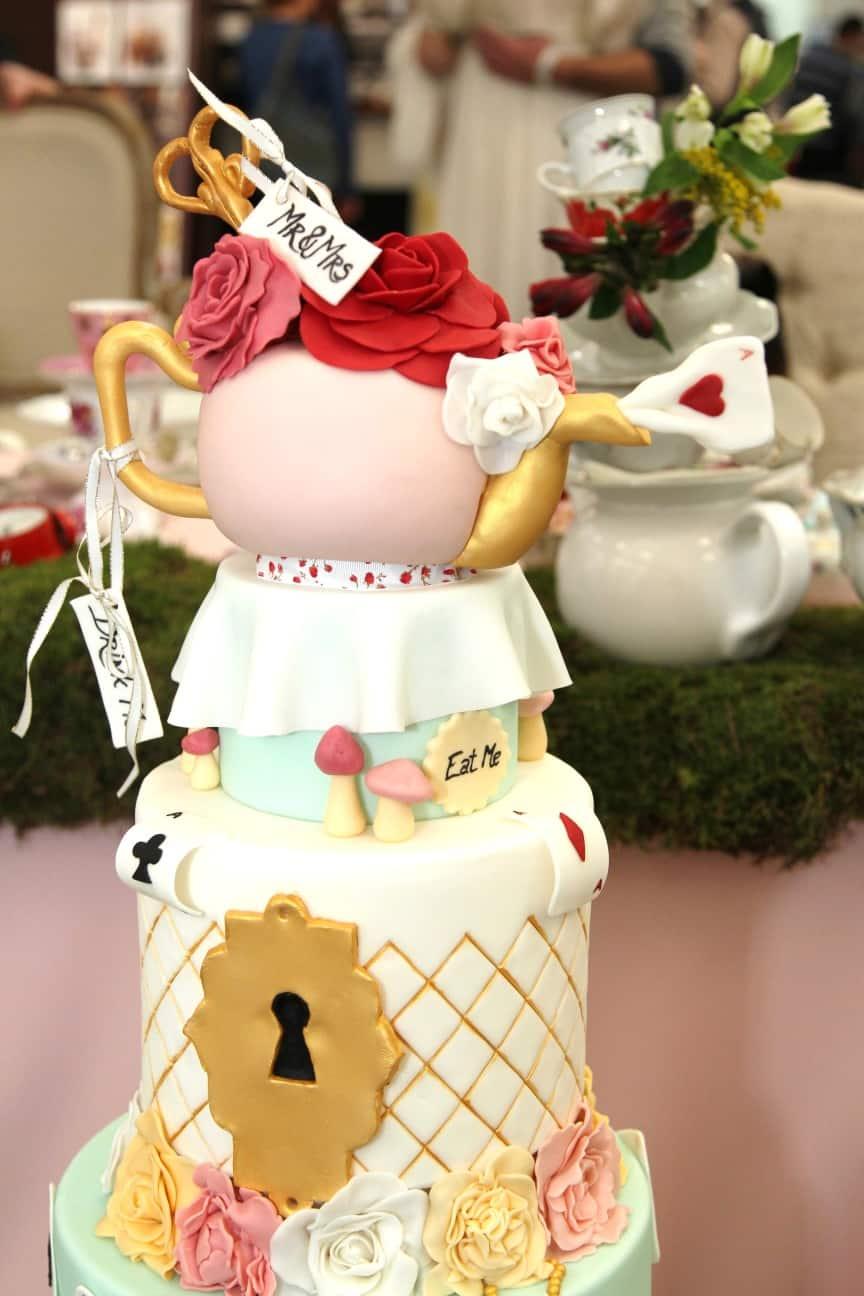 Svatební dort na veletrhu
