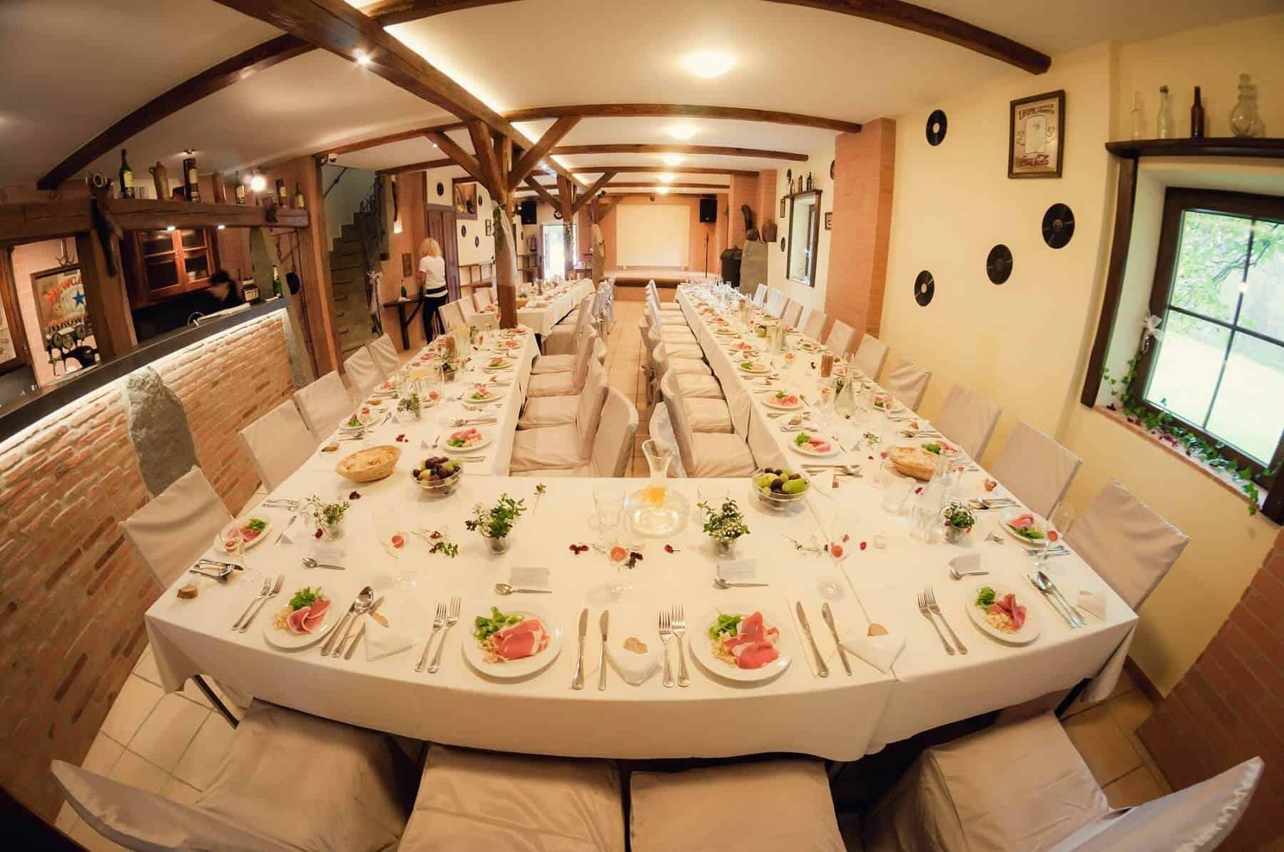 Svatební hostina penzion Kamínek