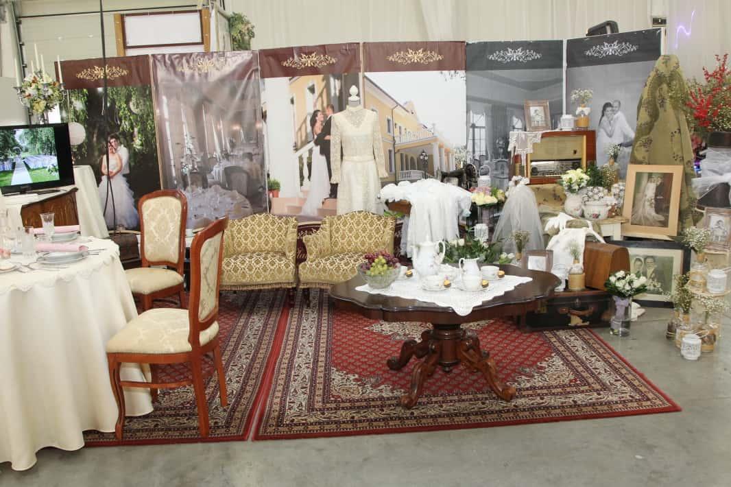 Ukázka svatebního salonu