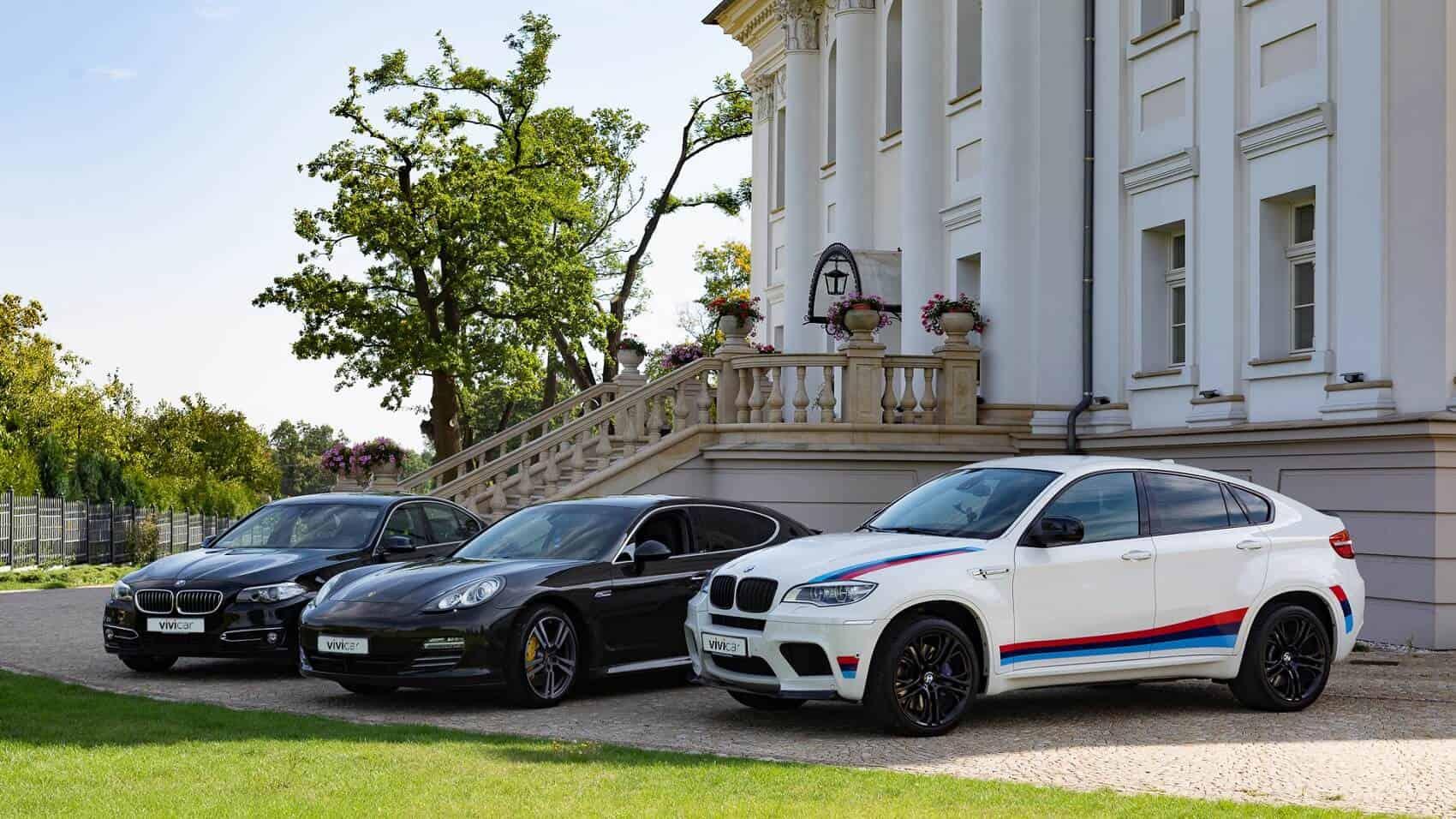 Vivicar Porsche a BMW