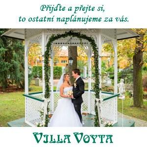 Villa Voyta - Romantická svatba jako na zámku