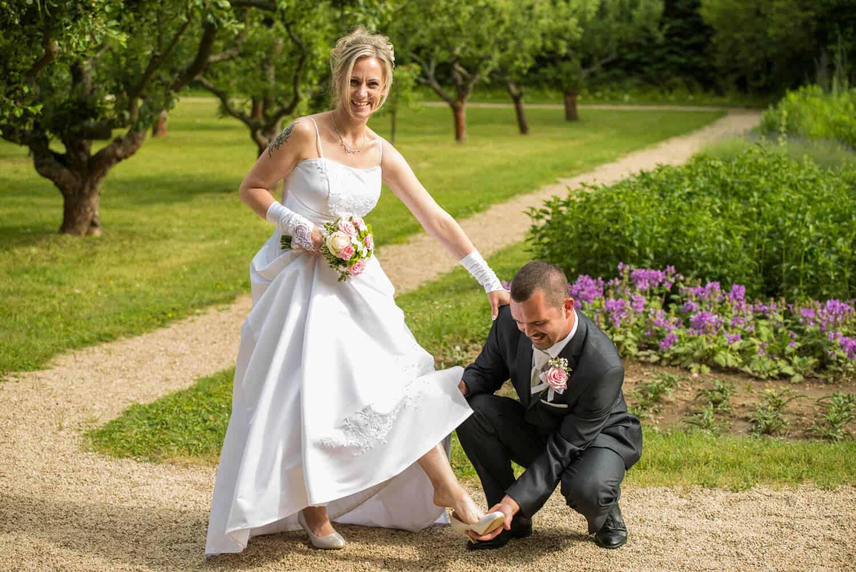 Nevěsta a ženich - Fotograf Marek Hrdý