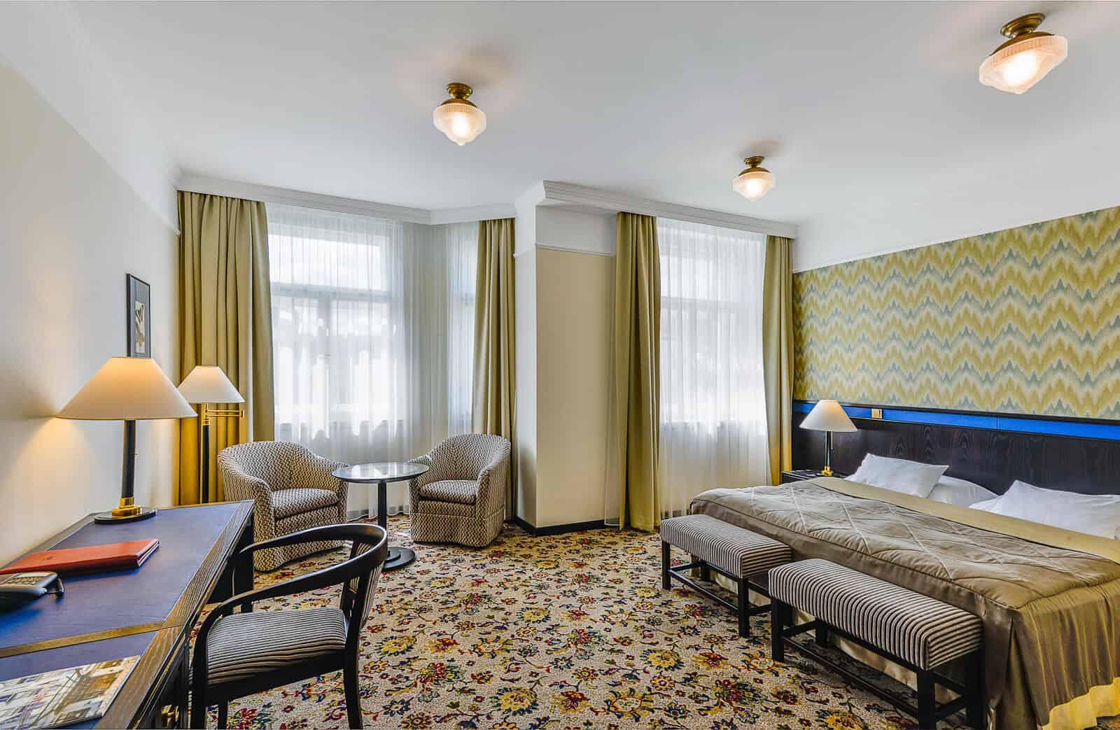 Hotel Savoy pokoj zelený