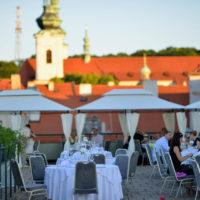 Hotel Savoy svatba na terase