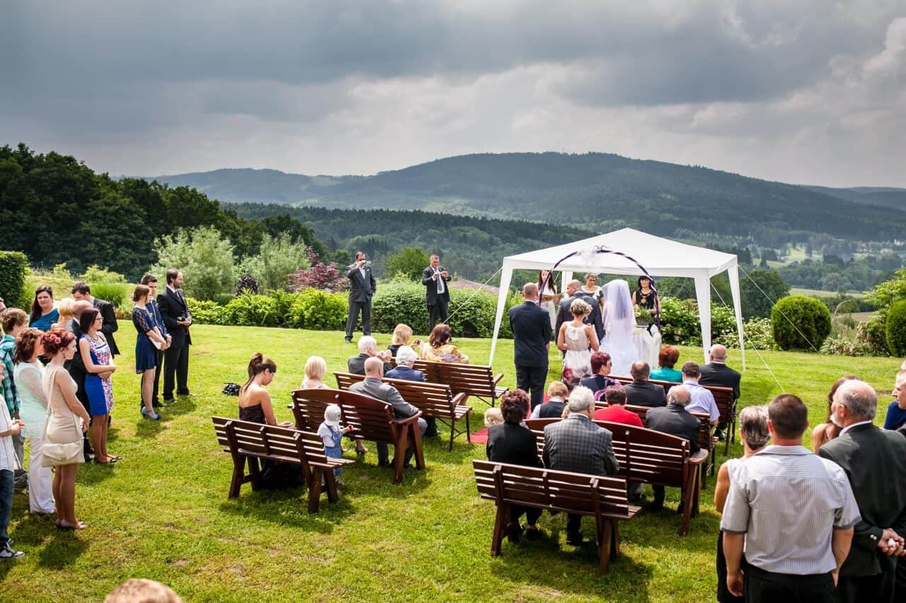 Svatební obřad Hotel Vega