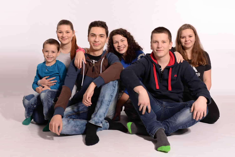 Velká rodina - Fotograf Marek Hrdý