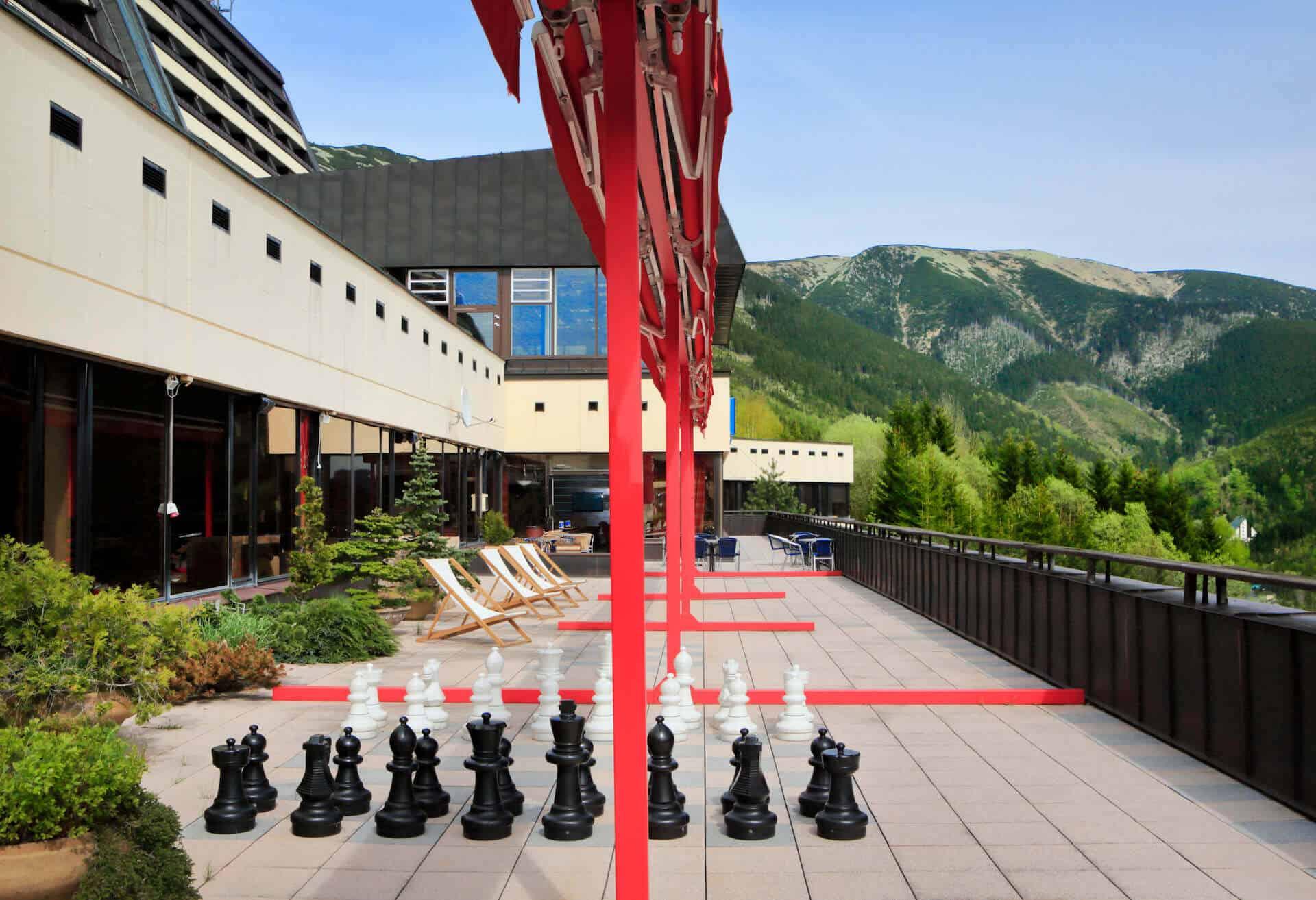 Orea Resort Horal - terasa