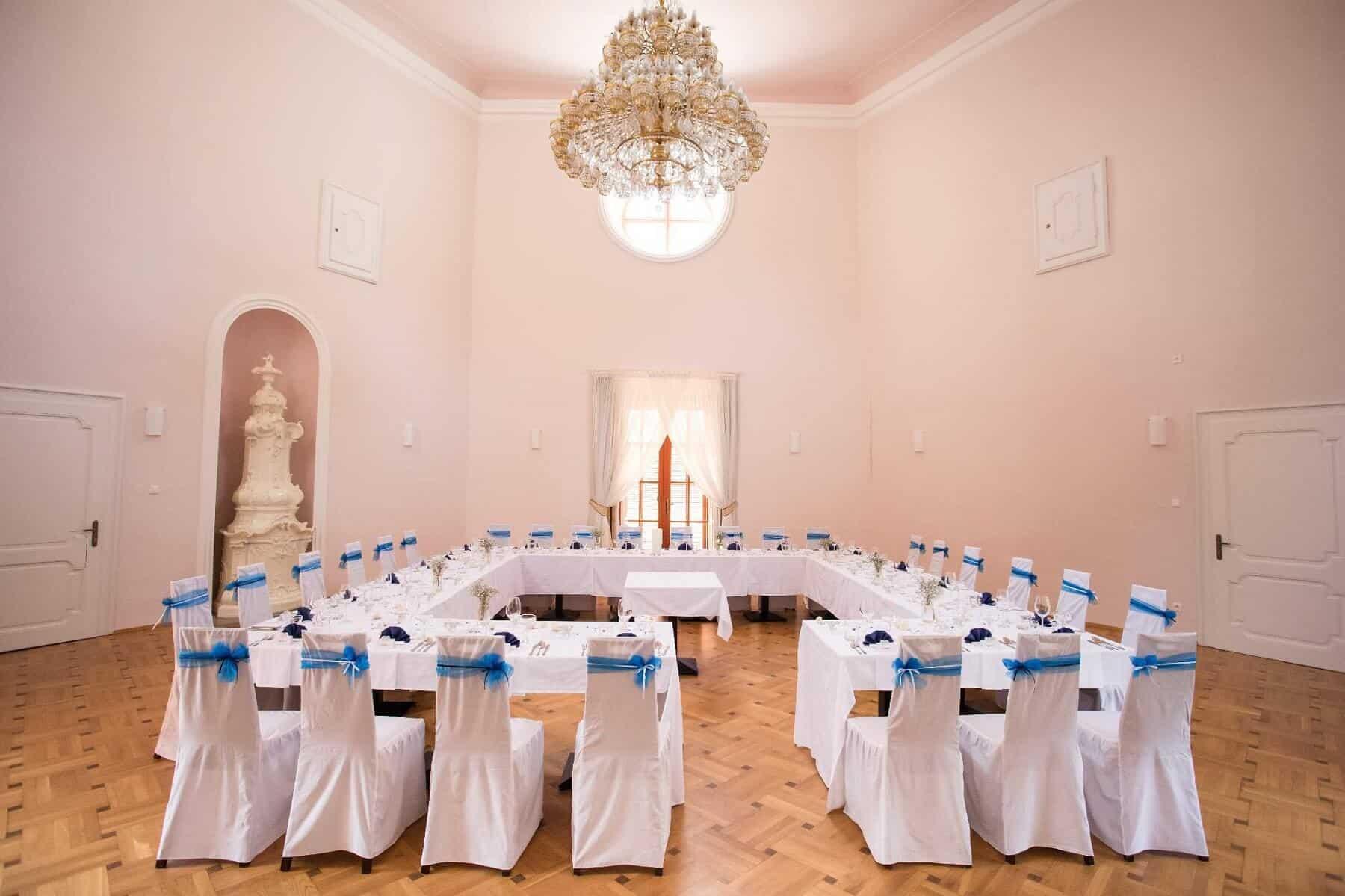 Resort Bechyně svatební hostina