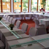 GreenPoint Svatební hostina mentolová