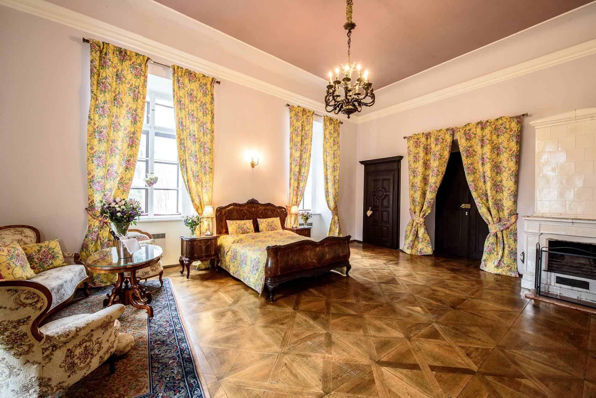 Hostačov zámecký apartmán