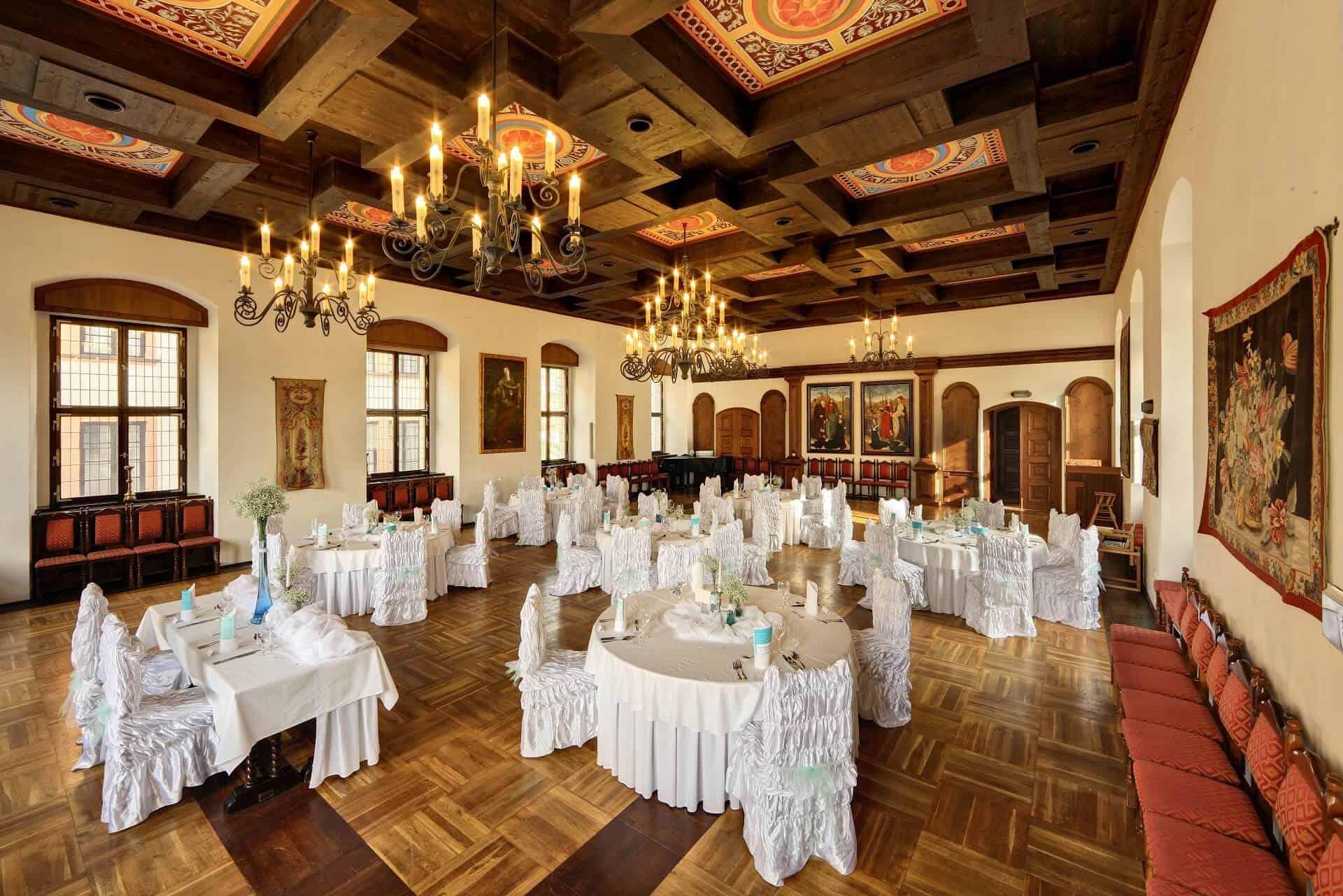 Hotel Růže - svatební hostina