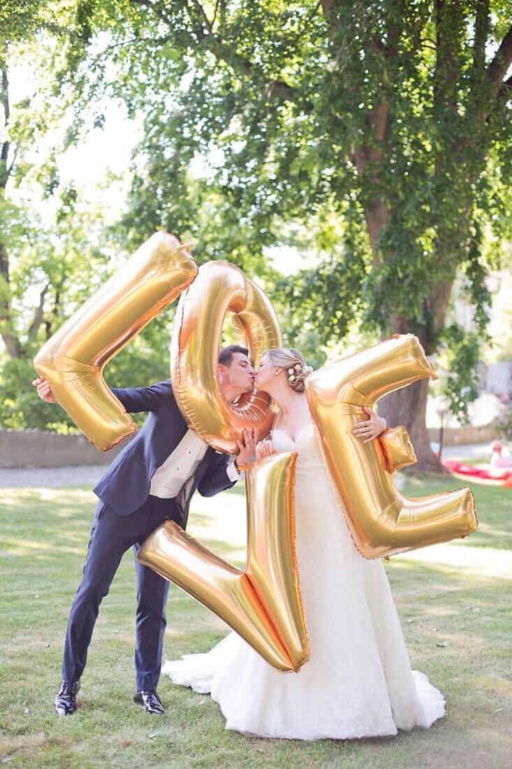 Novomanželé LOVE Bechyně