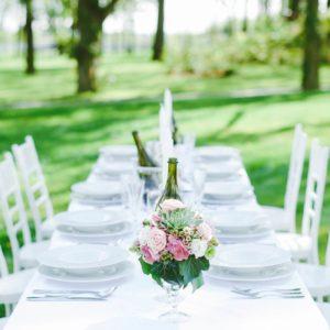 Zámecký Hotel Panství Dlouhá Lhota - svatební hostina