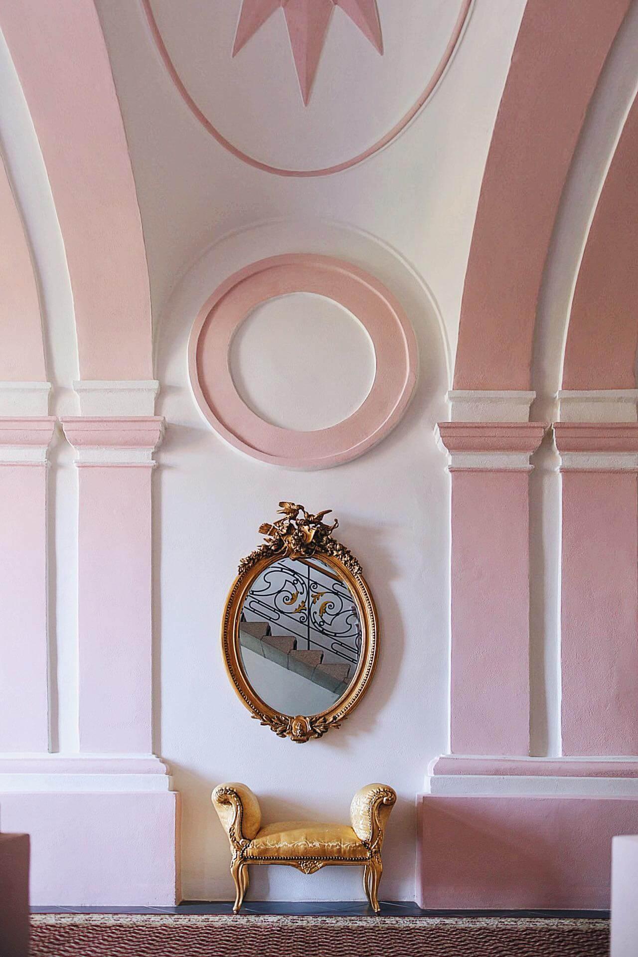Panství interiér