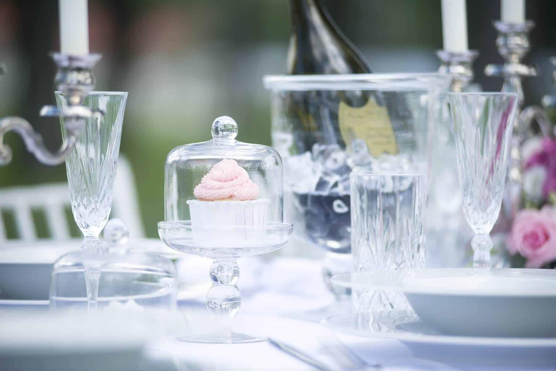 Zámecký Hotel Panství Dlouhá Lhota - dekorace stolu