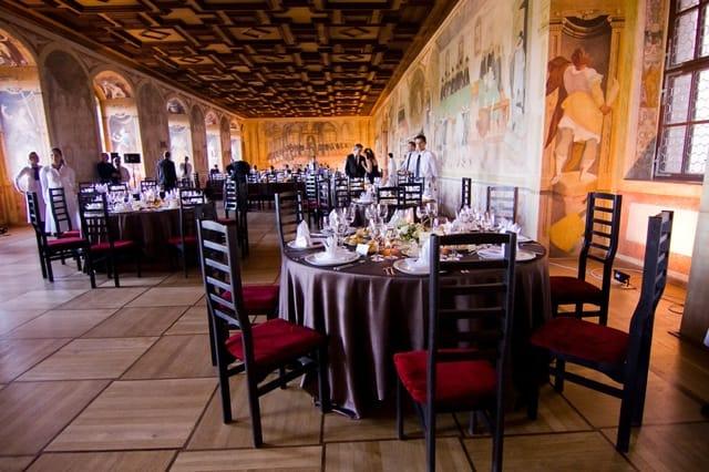 Resort Bechyně svatební hostina v sále