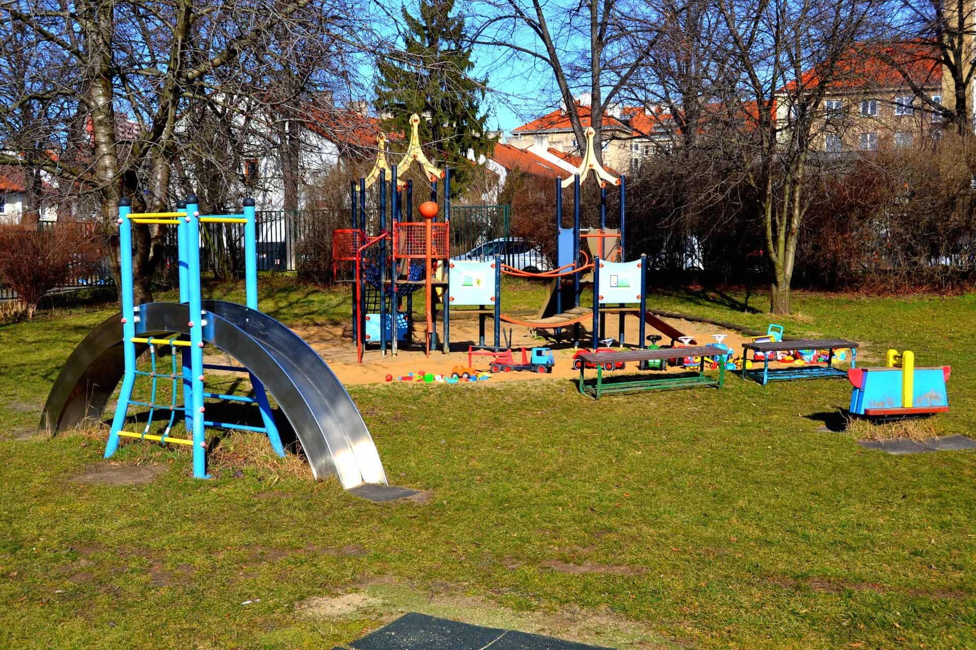 Greenpoint Praha 10 dětské hřiště