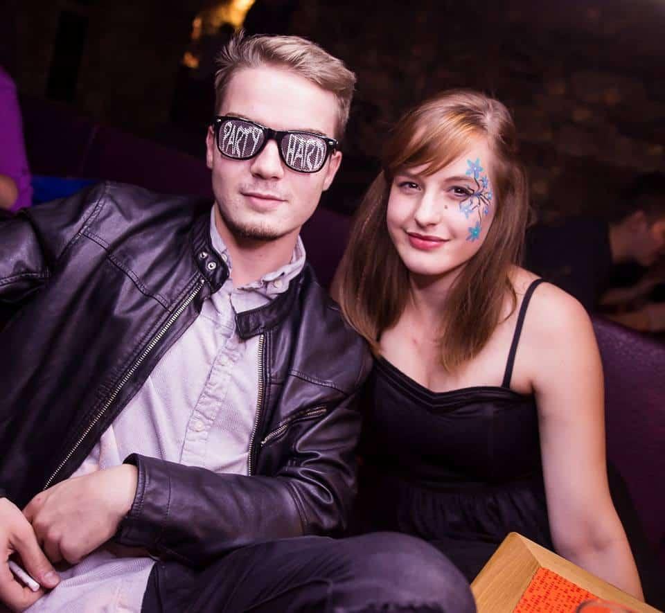 Brýle s potiskem párty