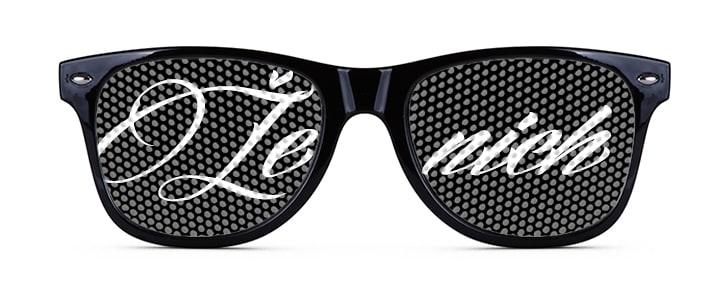 Brýle s potiskem ženich