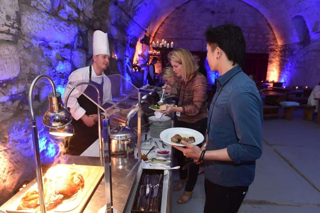 Zámek Nelahozeves catering