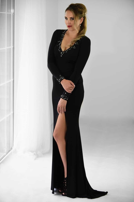 San Veritá - společenské šaty černé