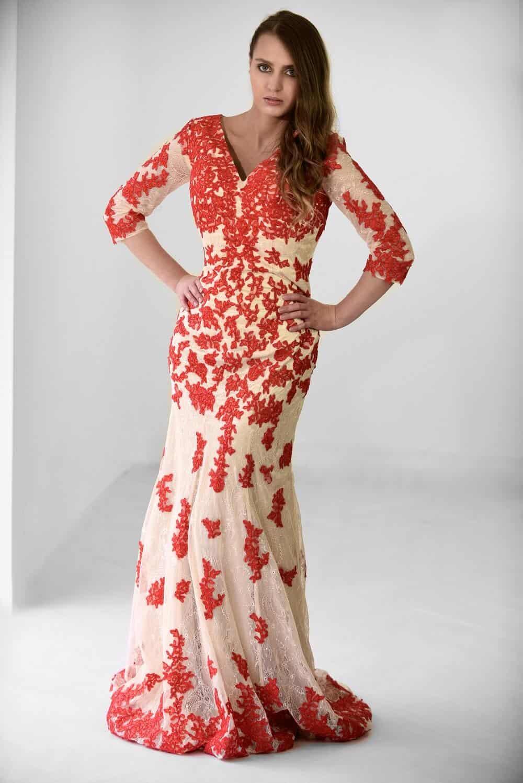San Veritá - společenské šaty červené