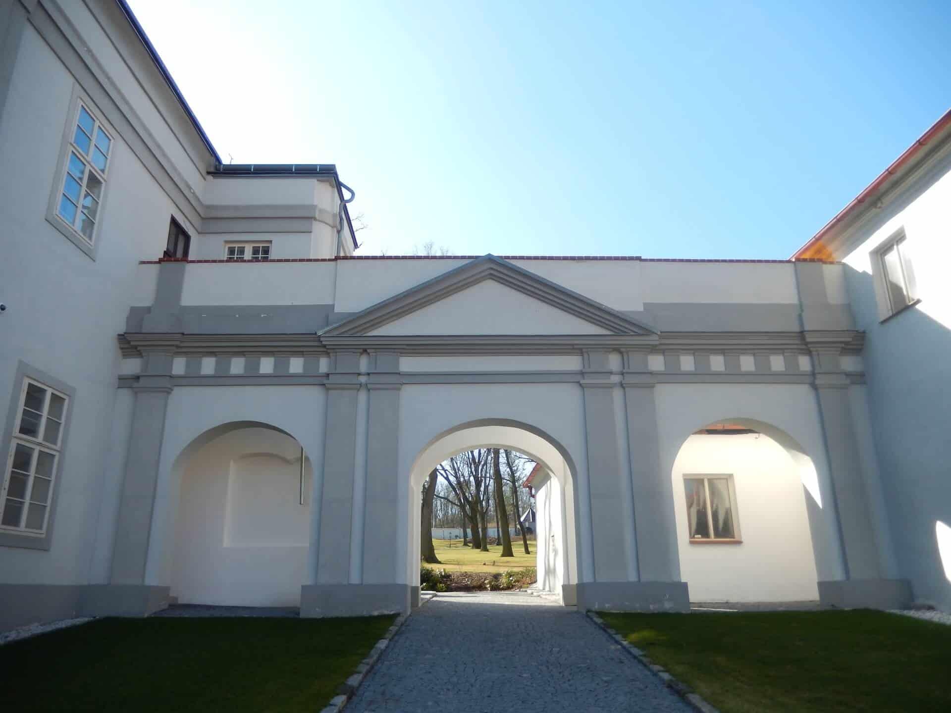 Hotel Panství - brána do parku
