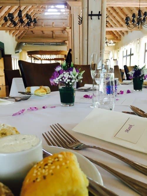 Restaurace Pod Zámkem - svatební hostina