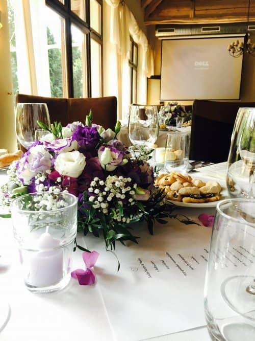 Restaurace Pod Zámkem - svatební hostina detail