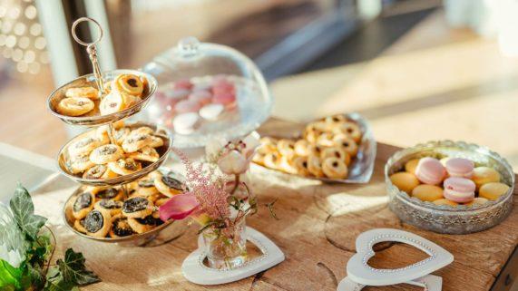 Čapí hnízdo - svatební dezerty