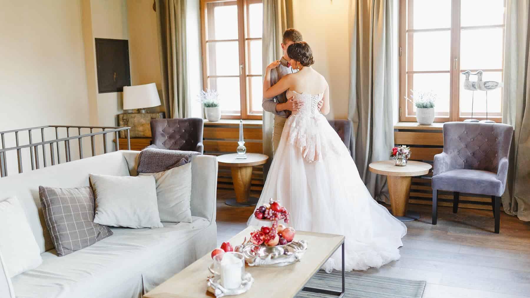 Čapí hnízdo - nevěsta a ženich