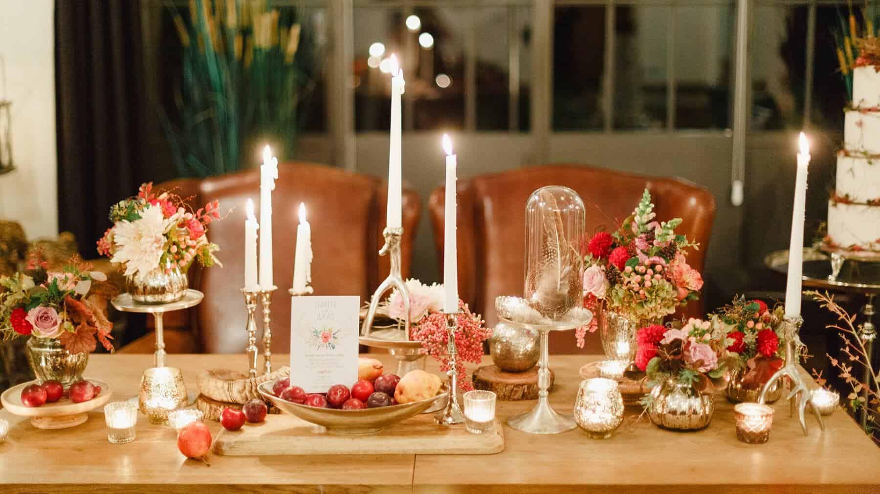 Čapí hnízdo - svatební podzimní dekorace