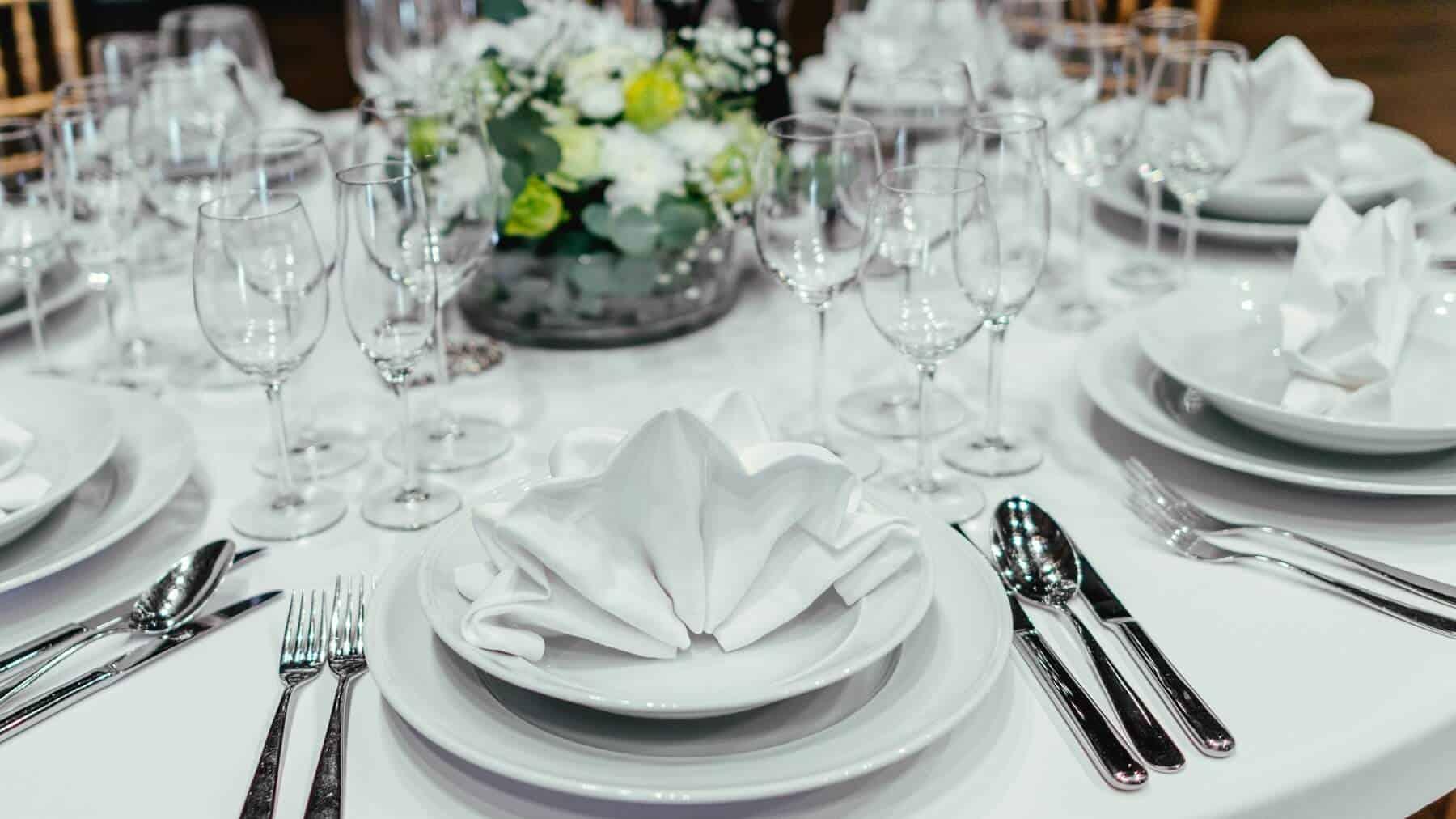 Čapí hnízdo - svatební hostina