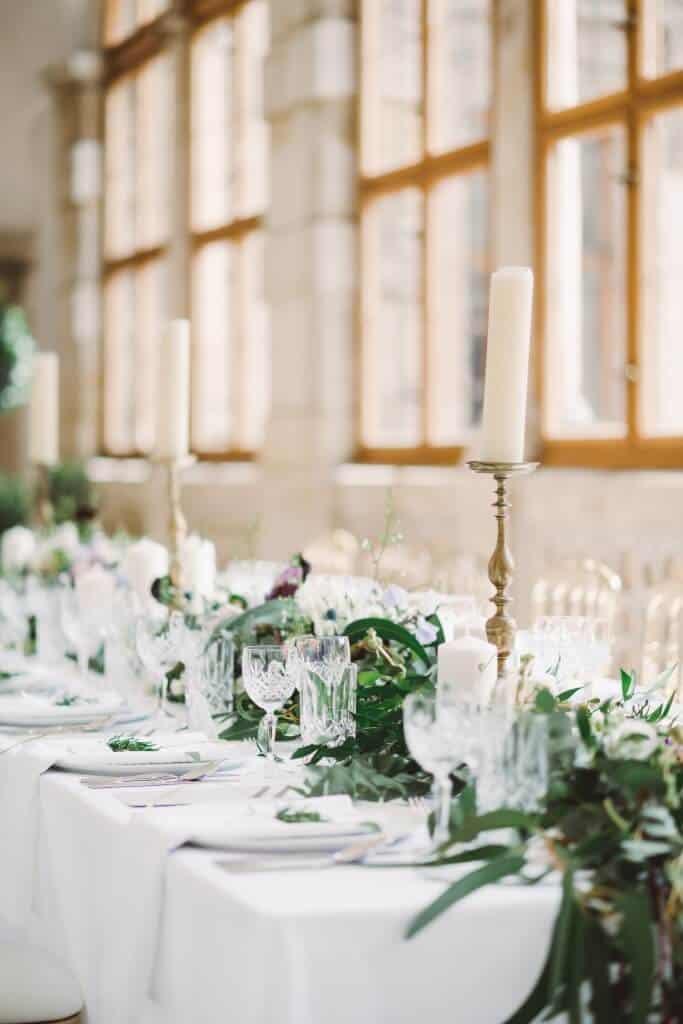 Zámkem Nelahozeves - svatební hostina